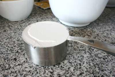 medir los ingredientes