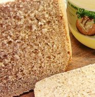 Pan con Semillas de Amapola y Aceite de Coco en Panificadora