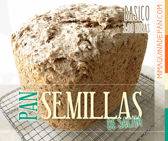 Pan con Semillas en Panificadora