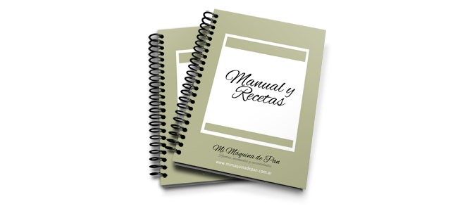 Manual y Recetas Horno de Pan