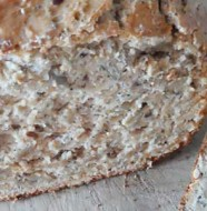 Pan rápido integral de 5 semillas: girasol, sésamo, chia, amaranto, amapola