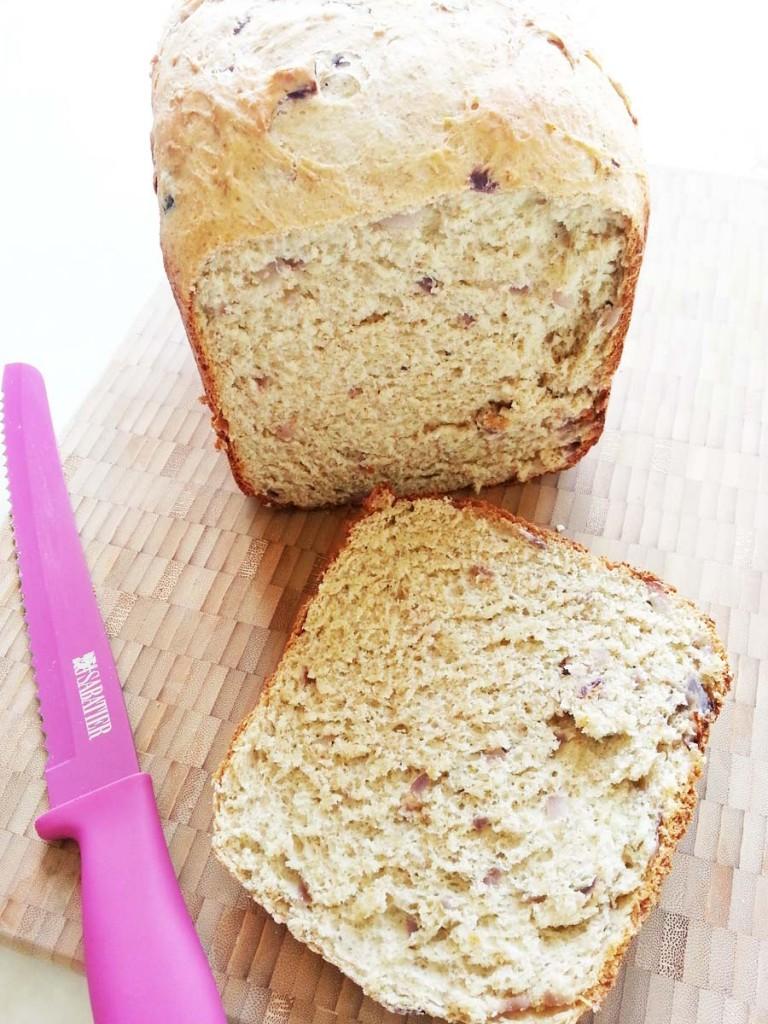 Focaccia integral en horno de pan