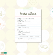 wallpaper torta citrus rapida