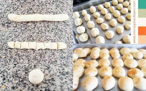 chipa en horno de pan