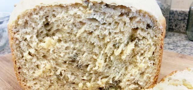 an de girasol en horno de pan