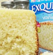 torta de cajita en máquina de pan