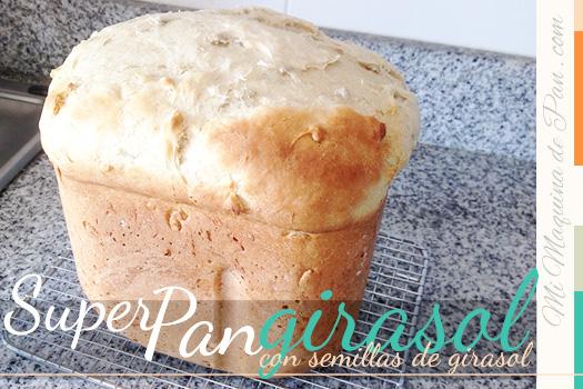 pan semillas girasol en panificadora