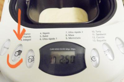 seleccionar tostado