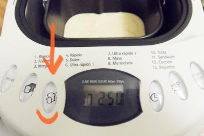 medida de los panes