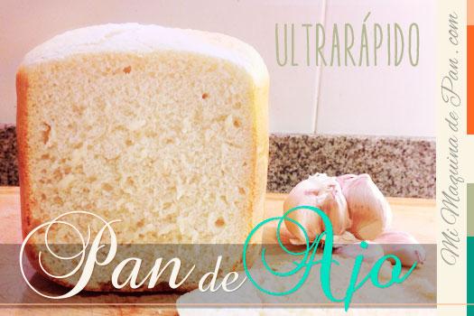 receta rápida de pan de ajo