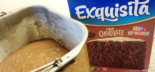 torta tipo Exquisita en máquina de pan